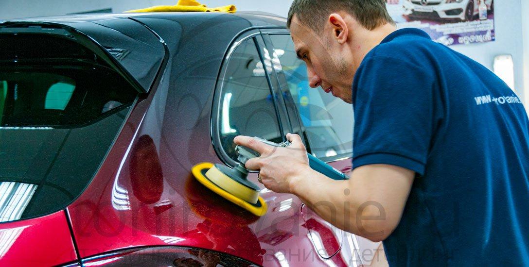 Как покрыть машину жидким стеклом своими руками 25